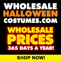 Halloween Costumes at Wholesale Prices 365 Days a Year