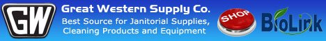 Great Western Supply is your source for BioLink biobased cleaning chemicals.