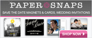 Save the Date Magnets, Save the Date Cards and Wedding Invitations from Papersnaps.com