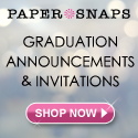 Graduation Invitations from Paper Snaps