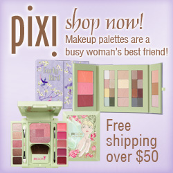 Makeup palettes are a busy woman's best friend!  Order at PixiBeauty.com - Free Shipping Over $50