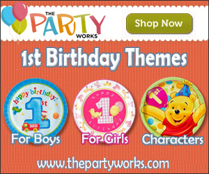 1st Birthday Party Supplies at ThePartyWorks