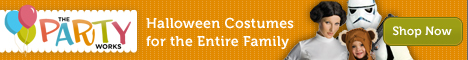 Costumes for the Entire Family at ThePartyWorks.com