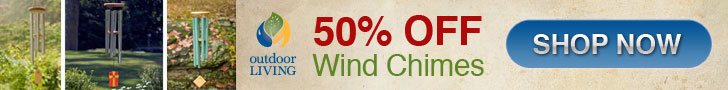 Up to 50% Wind Chimes Plus FREE Shipping