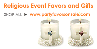 Religious Event Favors You'll Love!