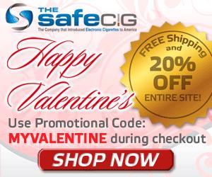 Get 20% off with TheSafeCig.com