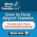 Book door to door airport transfers with World-Airport-Transfer.com