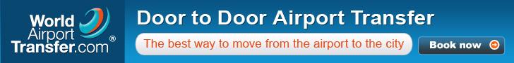 Book door to door airport transfers with World-Airport-Transfer.com