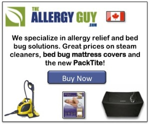 Allergy Guy Canada Packtite Closet affiliate banner