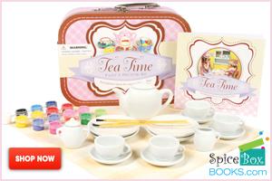painting tea set