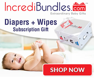 Shop IncrediBundles for Diapers + Wipes Subcription Gifts