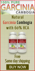 Natural Garcinia Cambogia with 60% HCA