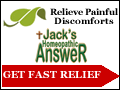 Jacks Homeopathic Answer - Works in as little as 5 minutes