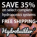 Save up to 35% at HydroBuilder.com