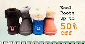 Wool Boots Up to 50% Off