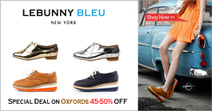 Special Deal on Oxfords 45-50% OFF