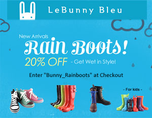 Rainboots Sale 20% off