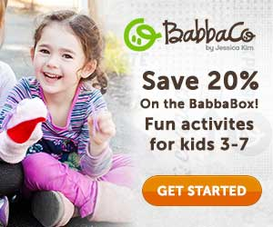 BabbaBox - Activity Box for Kids