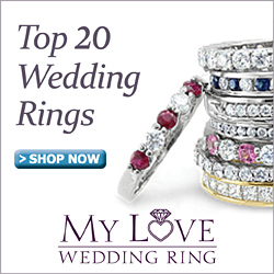 Top 20 Wedding Rings from MyLoveWeddingRing.com
