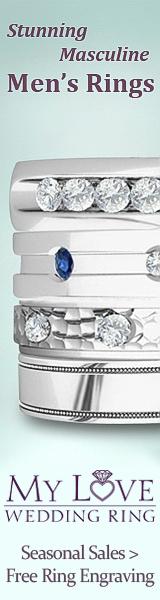 Men's Rings at My Love Wedding Ring