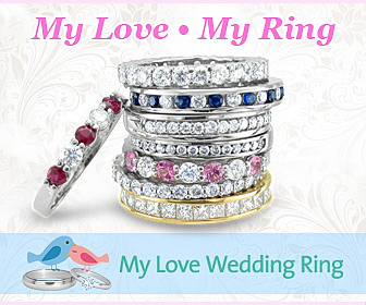 Shop Wedding Anniversary Rings at My Love Wedding Ring
