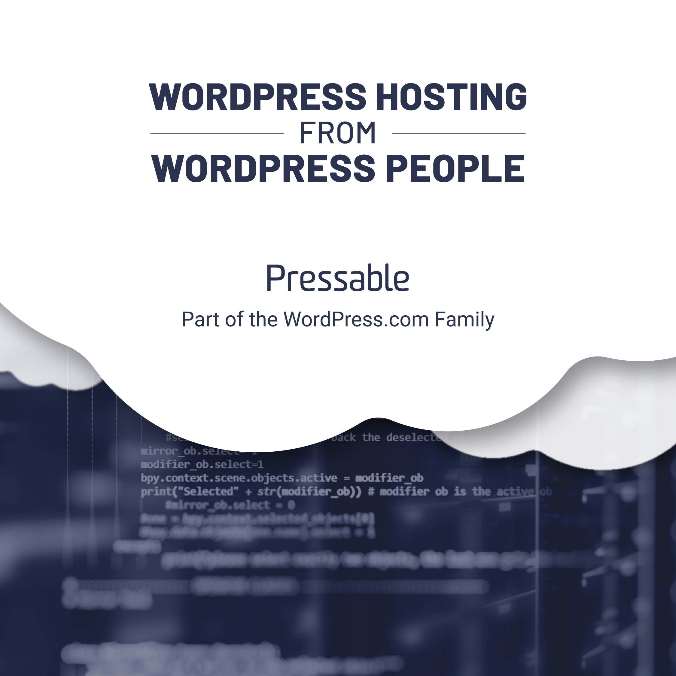 WORDPRESS HOSTING FROM WORDPRESS PEOPLE