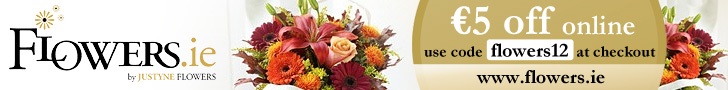 Flower Delivery Ireland �5 Off