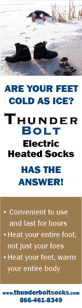 Thunderbolt Electric Heated Socks www.thunderboltsocks.com