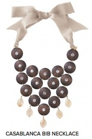 Stella & Dot Casablanca Bib Necklace