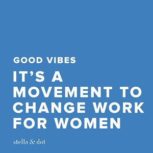 stella & dot independent stylist change work for women