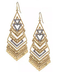 Horizon Statement Earrings