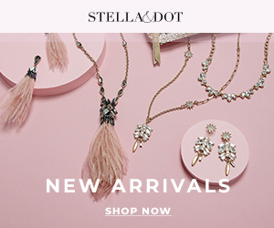 Stella and Dot banner for new jewelry arrivals