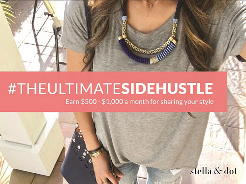 stella & dot independent stylist side hustle