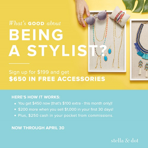 Looking for cute accessories. Check out Stella & Dot. Also flexible work for moms.
