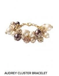 Stella & Dot Audrey Cluster Bracelet