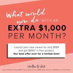 Adulting is never easy. Finding a job is one the things you need to deal with during this stage. Start it right with Stell & Dot.