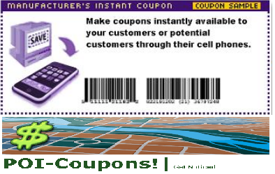 Location Based Coupons for your Business