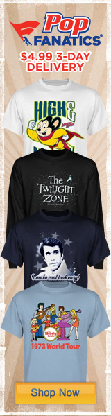 Celebrate classic TV series with printed T's, Sweatshirts and Hoodies from PopFanatics