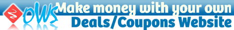 Make Money with your own Deals/Coupons Website