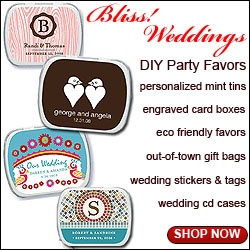 BlissWeddingsMarket Party Favors for Weddings