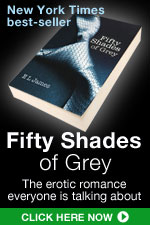 Fifty Shades of Grey the erotic romance everyone's talking about!