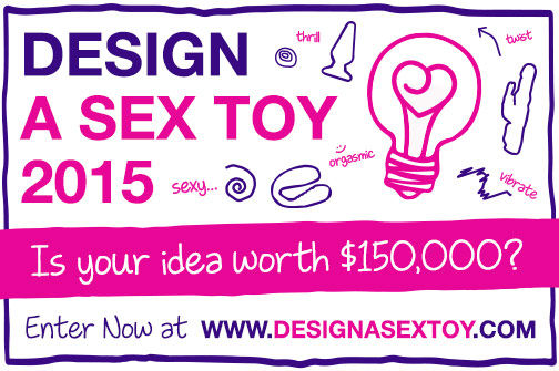 Your chance to win $150,000 with Design a Sex Toy 2015
