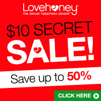 100 toys for only $10 in the Lovehoney Secret Sale!