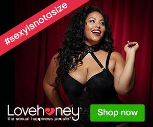 LoveHoney #sexyisnotasize