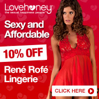 Enjoy 10% off Rene Rofe Lingerie