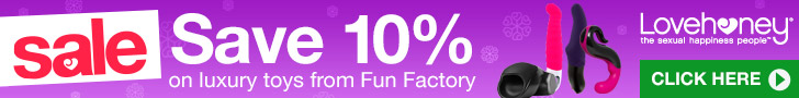 Save 10% on Fun Factory Toys at Lovehoney!
