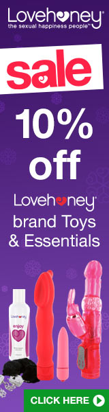 Save 10% on Lovehoney sex toys, lubes and bondage