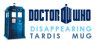 Disappearing Dr. Who Tardis Mug