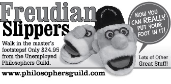 Freudian Slippers: Therapy For Your Feet