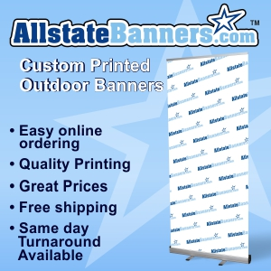 Order your outdoor banner now